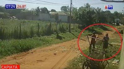 Increíble: Roban hasta el cesto de basura en Capiatá