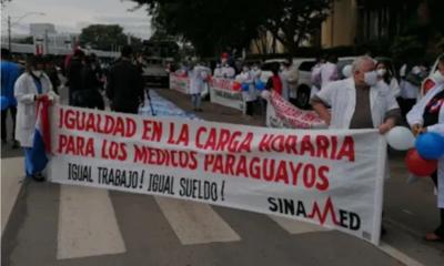 Médicos anuncian huelga para este martes 28 de septiembre