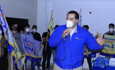 Iván Airaldi critica marcha encabezada por Prieto