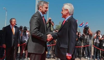 Presidente de Chile llega hoy a Paraguay en visita oficial