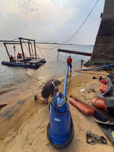 Presidente de Essap asegura que no habrá desabastecimiento de agua por bajante de río