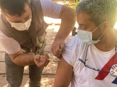 Marito recibió su primera dosis contra el covid-19