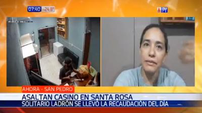 Asaltan local de juegos de azar en Santa Rosa del Aguaray