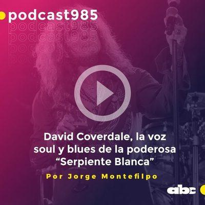 """Parada 98: David Coverdale, la voz soul y blues de la poderosa """"Serpiente Blanca"""""""