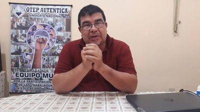 Docentes ratifican huelga el 1 de octubre exigiendo el 16% de reajuste salarial