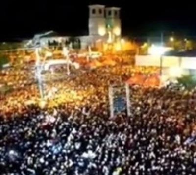 Coronel Oviedo: Más de 20.000 personas en mega fiesta de la juventud