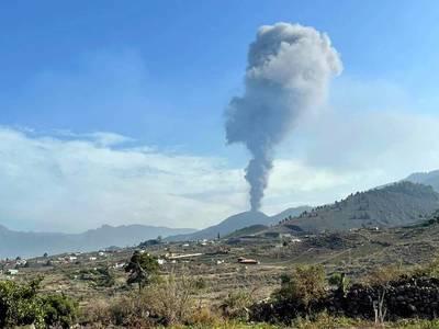 """Volcán en Canarias: actividad se reduce """"notablemente"""" en las últimas horas"""
