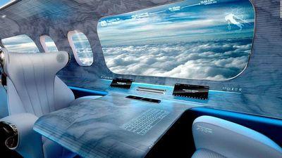 Ventanas virtuales, ¿el futuro de la aviación?