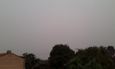 Coronel Oviedo: Anuncian clima inestable con lluvias y tormentas para este martes