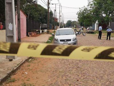 Sicariato en San Lorenzo: acribillaron a un hombre en cuestión de segundos