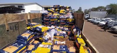 Cae 3,5 toneladas de MARIHUANA llevado de PARAGUAY