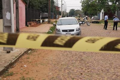 Sicarios asesinan a balazos a un hombre en San Lorenzo