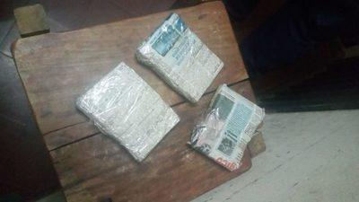 Intentaron ingresar 1.200 pastillas de disomnilan a penitenciaría arrojándolas sobre la muralla