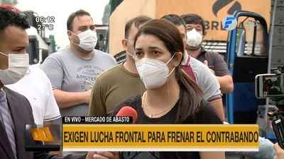 Protestan contra el contrabando y restricciones a la importación legal