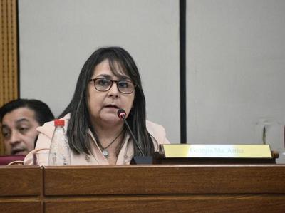 La senadora Arrúa paga los pasajes (de ida) a los que quieren implantar el modelo venezolano en nuestro país