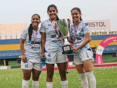Sol de América es vicecampeón absoluto del Fútbol Femenino