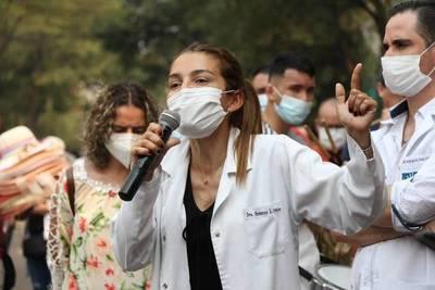 Médicos inician huelga y piden que se les pague a todos el mismo piso salarial – Prensa 5