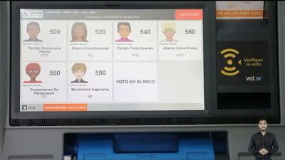 Mirá cómo votar con las urnas electrónicas