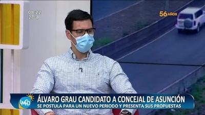 Recibimos a Álvaro Grau, candidato a concejal de Asunción