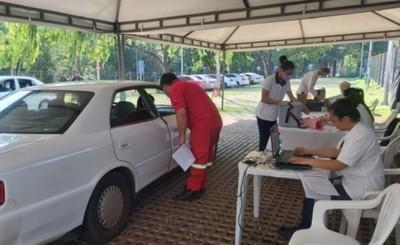 Unas 6.000 personas se vacunaron este lunes en el Alto Paraná