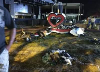 Destruyen letras corpóreas de la Municipalidad – Prensa 5
