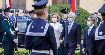 La Nación / Cargada agenda del presidente Sebastián Piñera en Paraguay
