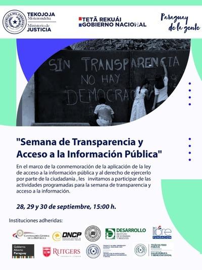 Semana de Transparencia y Acceso a la Información Pública