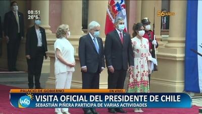 Visita oficial del Presidente de Chile en Paraguay