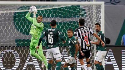 Atlético Mineiro y Palmeiras definen al primer finalista