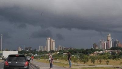Emiten alerta por tormentas para 3 Departamentos