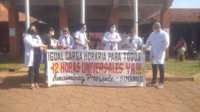 Médicos locales se adhieren a huelga a nivel nacional