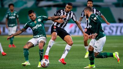 Atlético Mineiro y Palmeiras definen el primer finalista