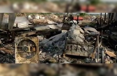 Apelan a la solidaridad para familias afectadas por el incendio en Tablada Nueva