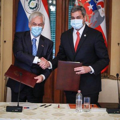 Nueva cooperación: Chile donará 100 mil dosis anticovid a Paraguay