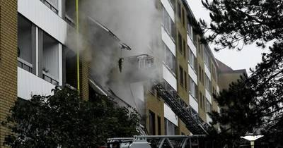 La Nación / Reportan 16 heridos por una explosión sospechosa en un edificio en Suecia