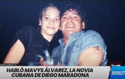 Maradona y su novia de 16 años: Cubana rompe el silencio