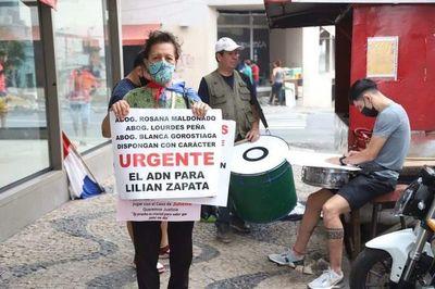 Manifestantes piden justicia ante absolución de padrastro de niña desaparecida