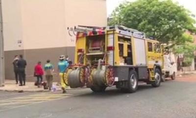 Fuerte choque sobre 1era. e Iturbe en Asunción