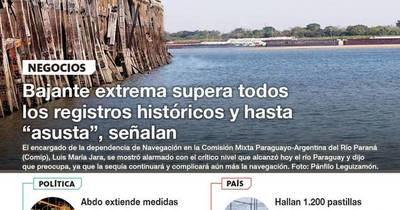 La Nación / LN PM: Las noticias más relevantes de la siesta del 28 de setiembre