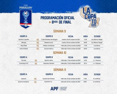 Octavos de final de la Copa Paraguay