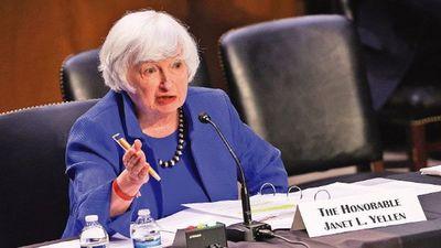 Yellen pide subir endeudamiento de EEUU, pese a una puja en Congreso
