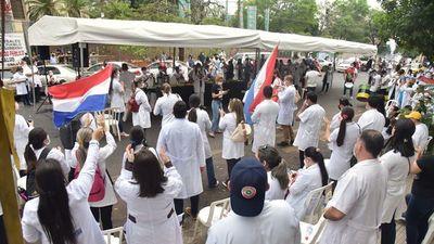 No hubo acuerdo con Salud y los médicos siguen con la  huelga