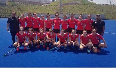 Las Aguará empatan y son líderes en Perú en hockey