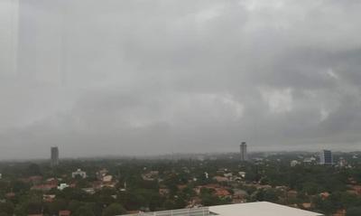 Emiten alerta por tormentas sobre varios Departamentos