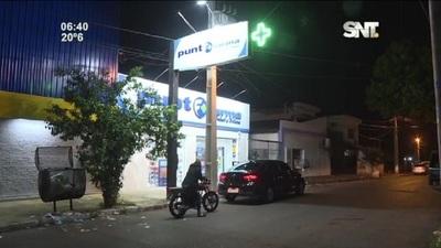 Atrapan a presunto 'robafarmacias' en Asunción