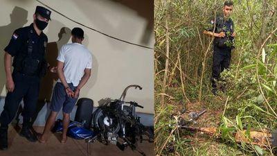 Robó la moto de un concejal y fue arrestado