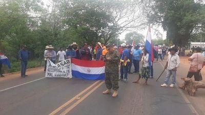 Las movilizaciones de campesinos e indígenas se extienden a San Pedro