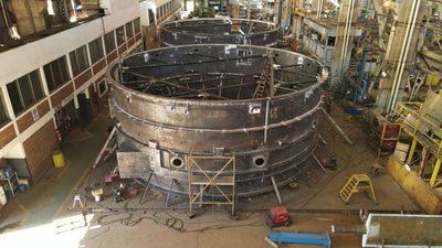 Componentes electromecánicos serán trasladados a la zona de obras en Aña Cuá