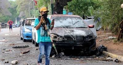 La Nación / Amenazan con incendiar el Congreso Nacional si se aprueba ley contra invasiones