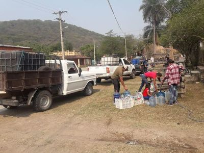 Chaqueños afectados por falta de agua piden auxilio a las autoridades nacionales